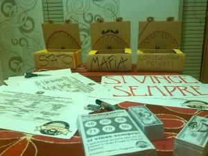 Il materiale che abbiamo prodotto per Giocanda 2013.