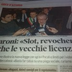 La promessa di Maroni: Revocherò le vecchie licenze