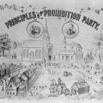 Manifesto propagandistico del Partito Proibizionista americano, 1888